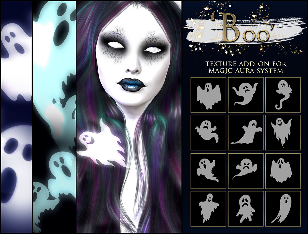 -Elemental - ' Boo ' Texture Addon For Magical Aura Advert