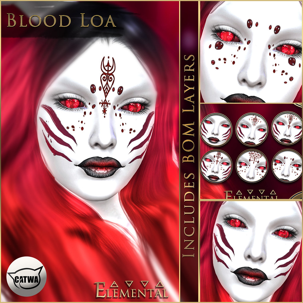- ELEMENTAL - 'Blood Loa' Makeup with BOM Advert