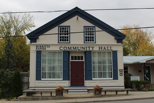 Burritts Rapids Community Hall | by Matthew Burpee