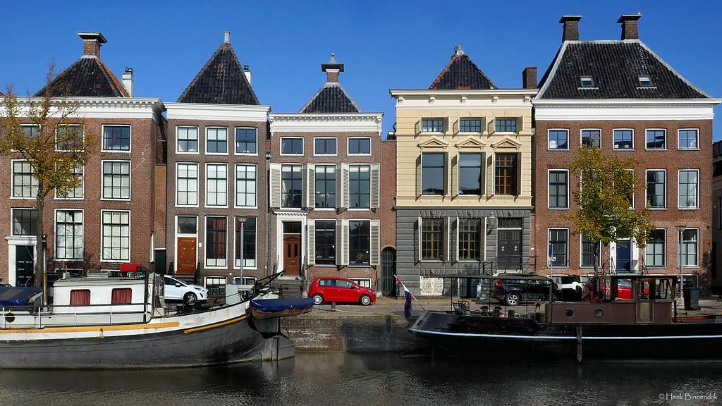 Groningen: Hoge der Aa canal houses