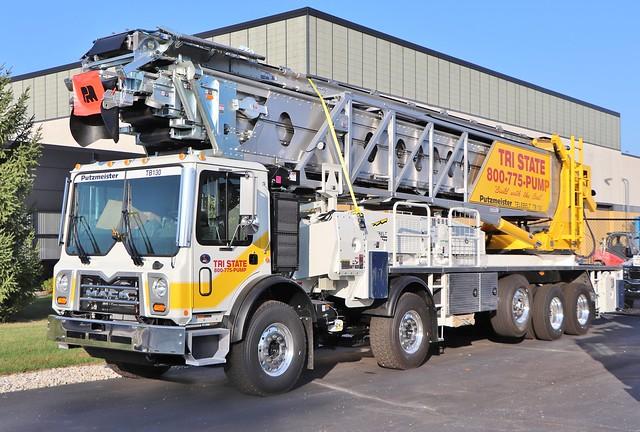 Tri State Concrete Pumping Truck