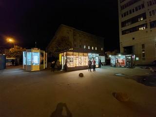 Снимок в ночном режиме со сверхширокоугольного модуля Samsung Galaxy M51