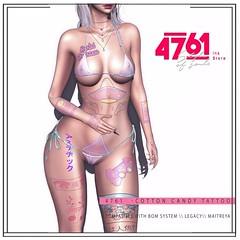 4761 - Cotton Candy Tattoo