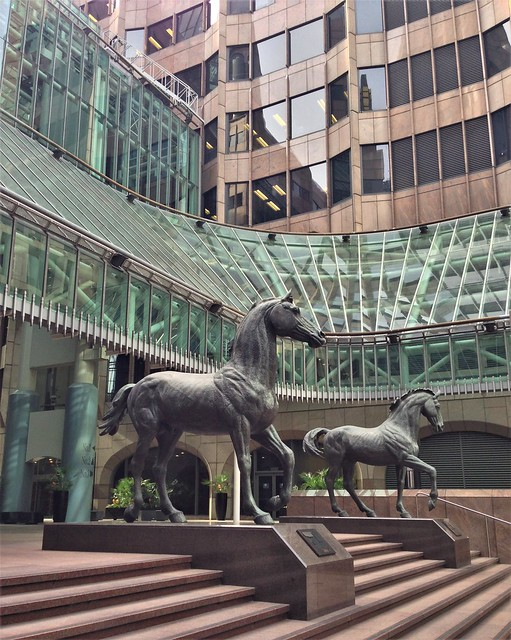 The Minster Court Horses