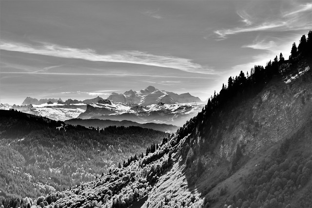 02.21.20.The Mont Blanc Black and White.