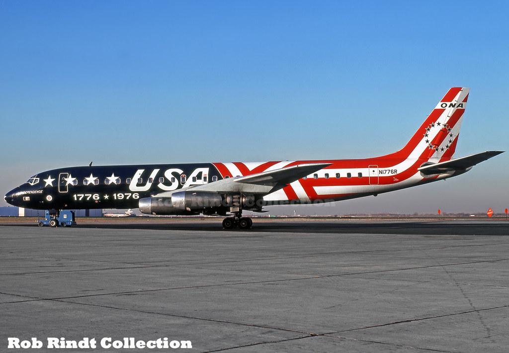 Overseas National Airways (ONA) DC-8-32 N1776R