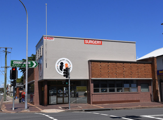 Building, Mayfield, Newcastle, NSW.