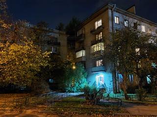 Снимок в ночном режиме с Samsung Galaxy M51