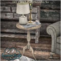 DD Thilo Antique Sidetable Set-AD