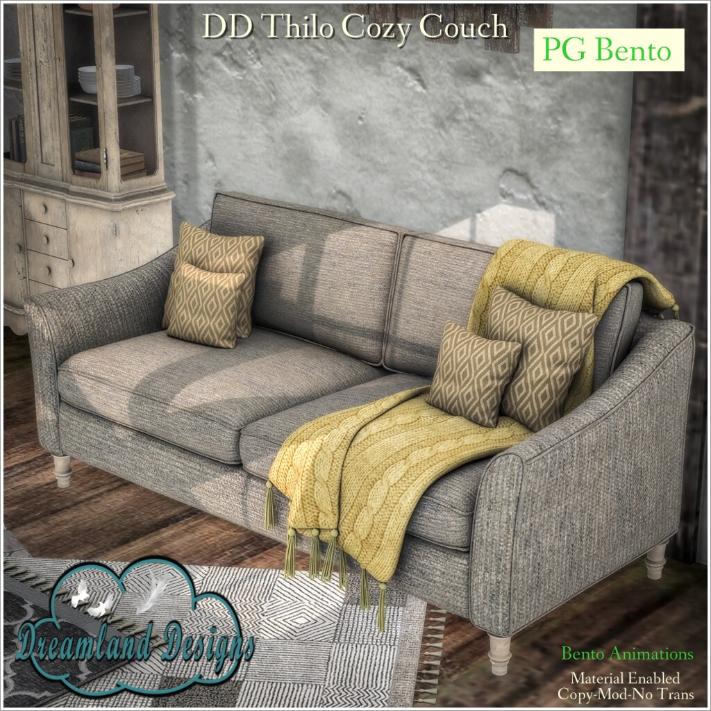 DD Thilo Cozy Couch-PG A