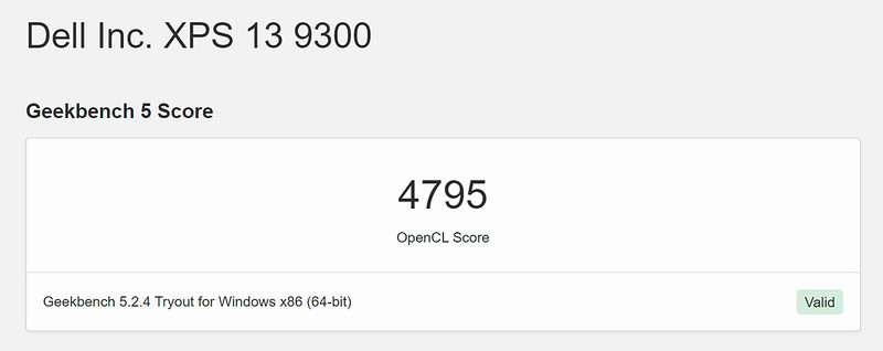 XPS13-9300-GEEKBENCH-COMPUTER