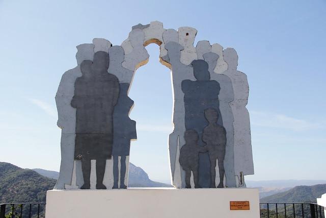 El emigrante - En Genalguacil - el pueblo museo