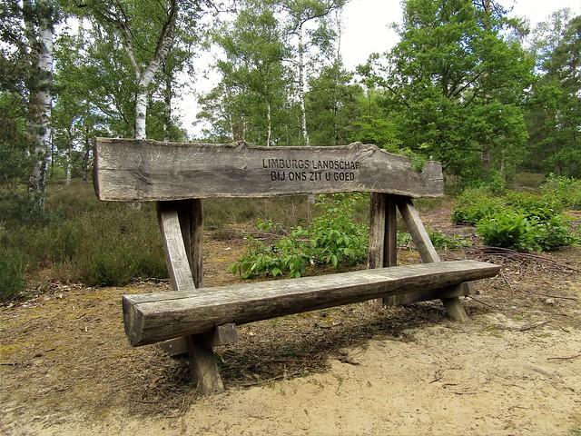 Bench in Bolderberg, Heusden-Zolder