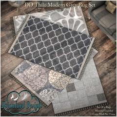 DD Thilo Modern Grey Rug Set-Ad