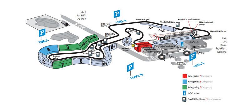 Nürburgring F1 Track