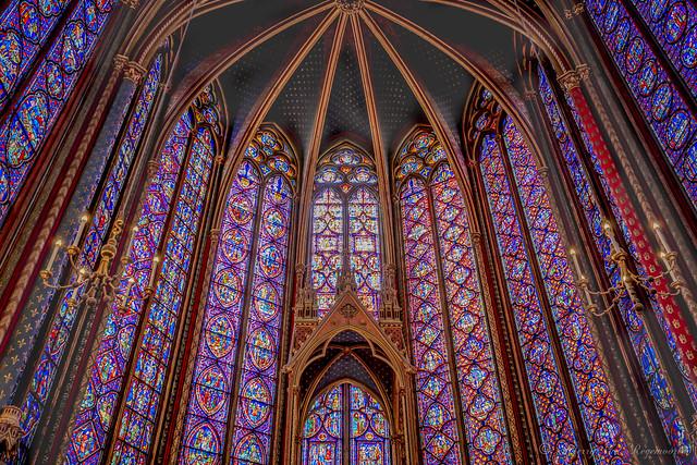 La Sainte-Chapelle à Paris