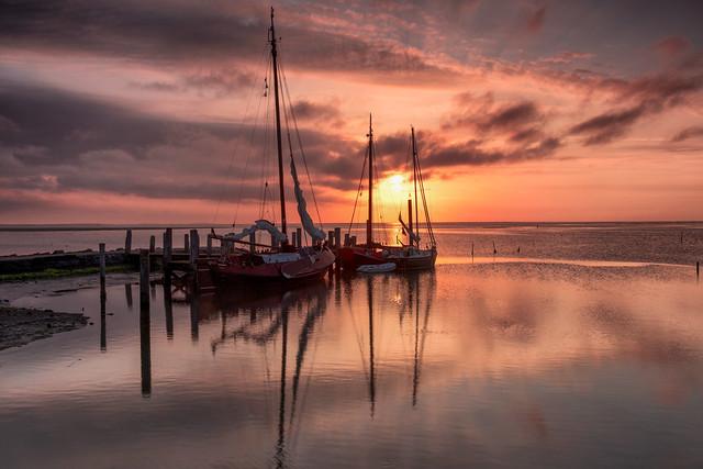 Het haventje van Sil / Texel 2020