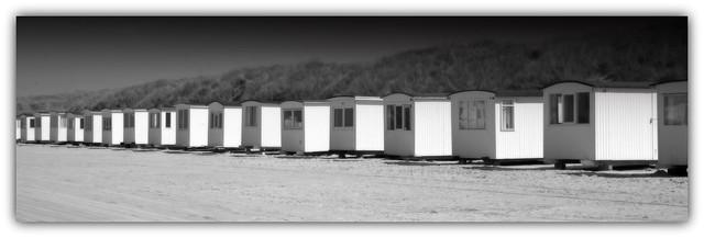Strandhäuser in Lökken...