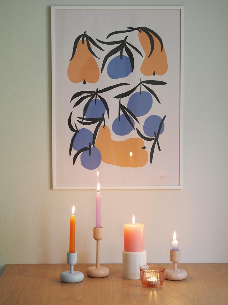 Desico värikkäät vastuulliset kynttilät