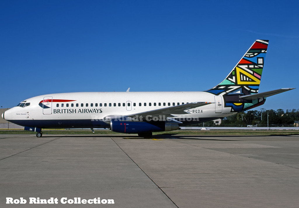 British Airways B737-236/Advanced G-BGDA