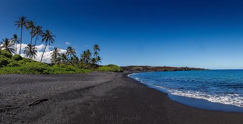 kiholobay hawaii usa sea meer landscape pano panorama palms canoneosr canonrf24105 nature wasser water bigisland