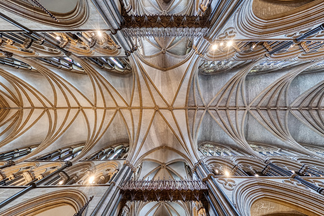 Roof Vaults, Lincoln Cathedral