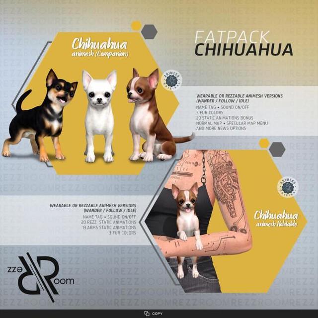 [Rezz Room] Box Chihuahua Animesh FATPACK
