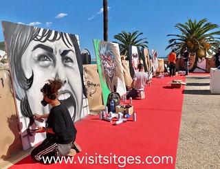 GALERIA DE FOTOS FANTASTIC STREET ART SITGES 2020
