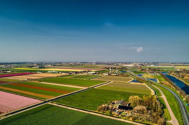 Springtime at De Stolpen, Holland.