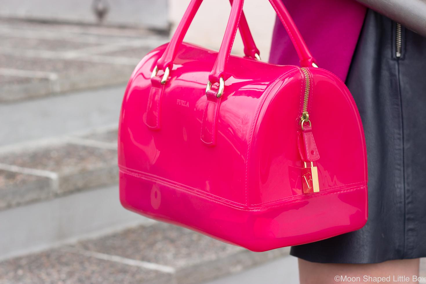 Furlan-Candy-laukku-pinkki