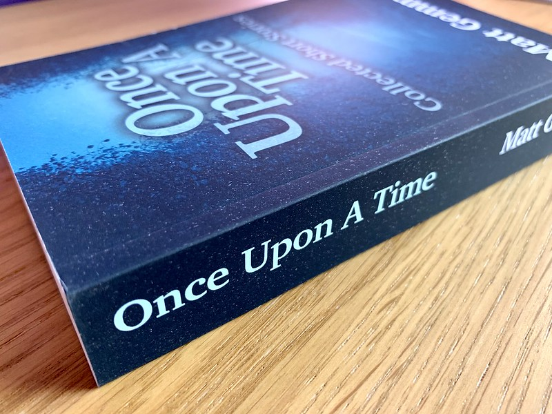 Once Upon A Time cover and spine