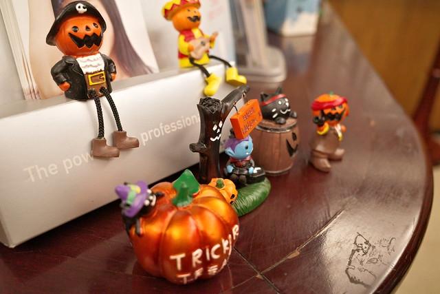 Halloween welcoming