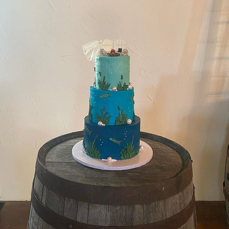 Cake by Sweet Street Confectionery
