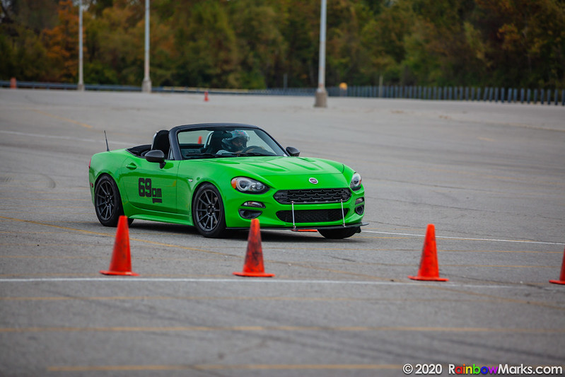 St. Louis Region Autocross 10-10-2020 Heat 3