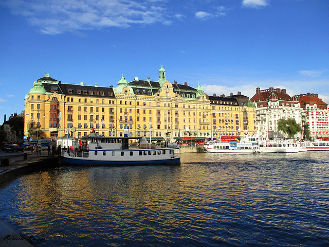 Stockholm by the water