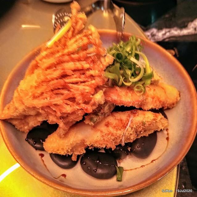 Taiwan seafood hot pot restaurant at Taipei, Taiwan, July 19,2020