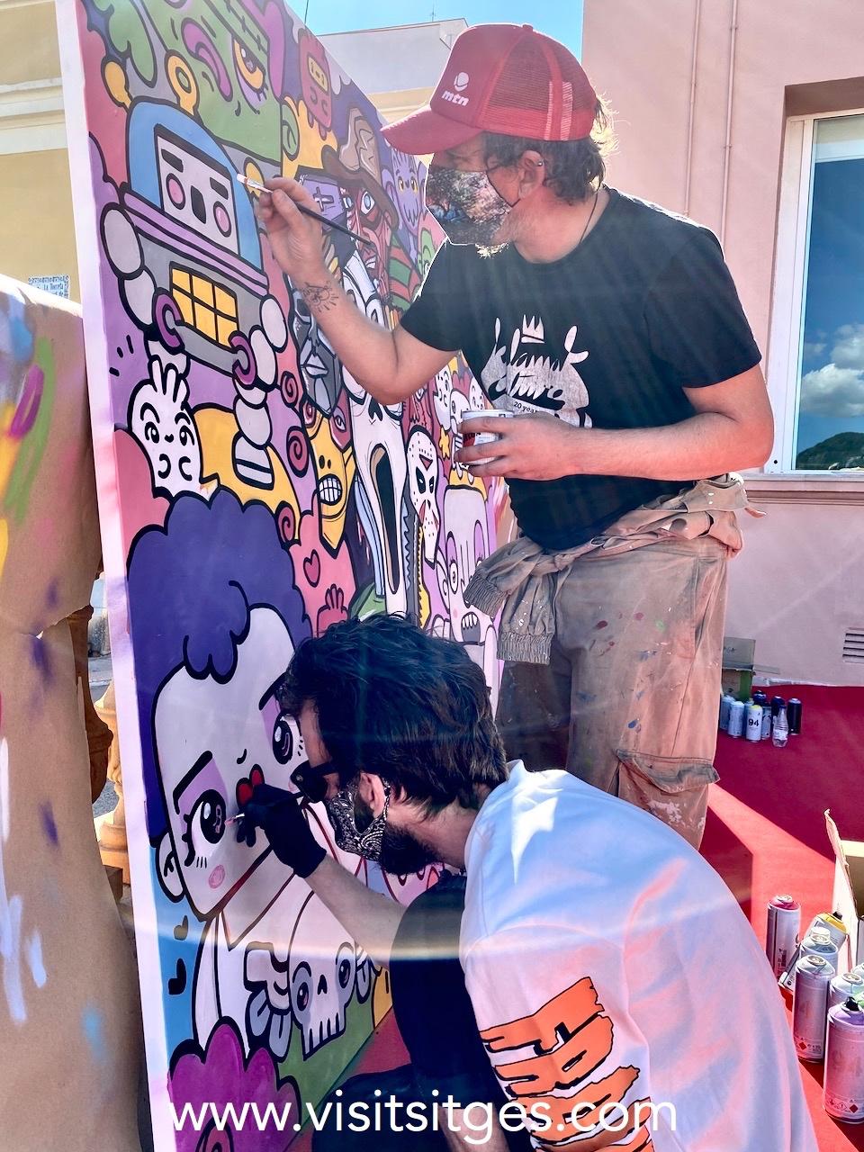 Fantastic Street Art Sitges 2020