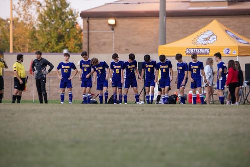 Scottsburg Warrior Soccer 2020-10-10