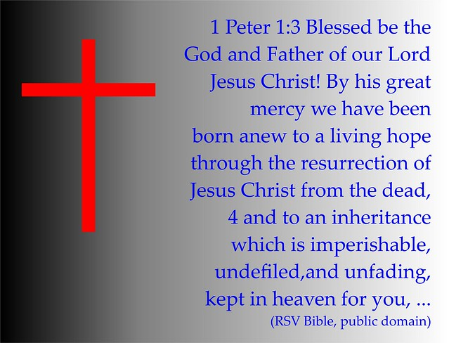 Resurrection 1 Peter 1 3-4