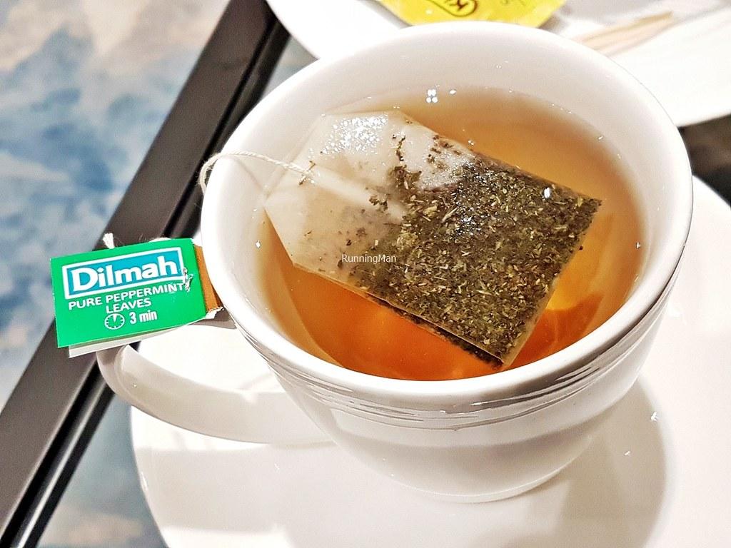 Changi Lounge 22 - Tea Peppermint