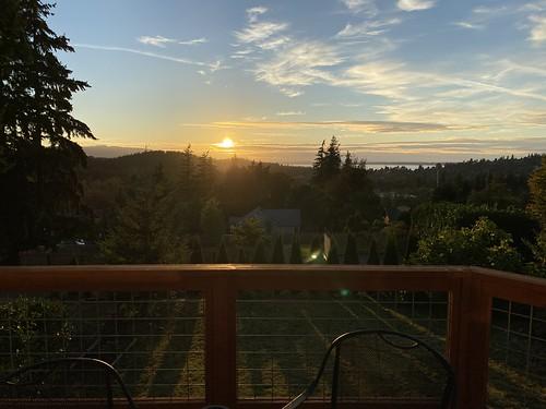 Bellingham's got sunsets