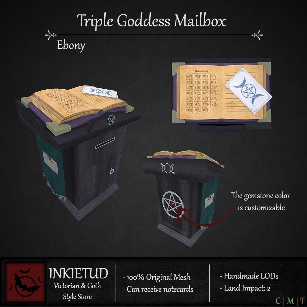 Triple Goddess Mailbox