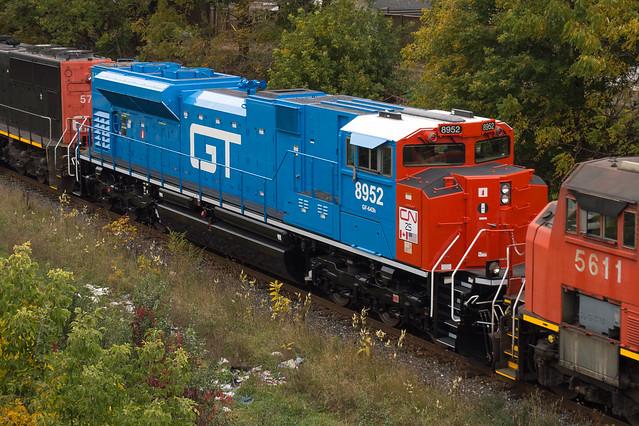 CN 8952 Roster
