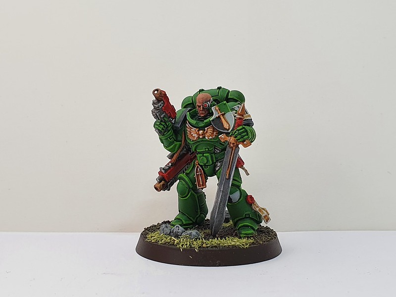 Dark Angels Primaris Captain