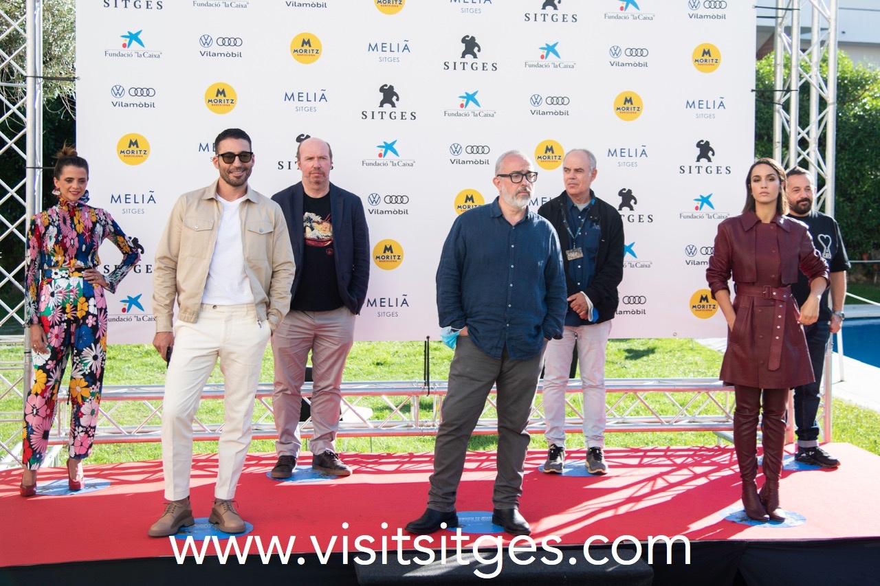 EQUIPO 30 MONEDAS EN EL SITGES FILM FESTIVAL 2020