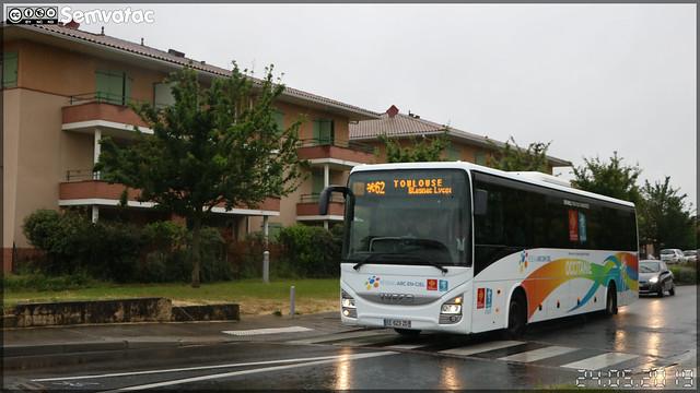 Iveco Bus Crossway – RDT 31 (Régie départementale de Transport de la Haute-Garonne) / liO (ex – Arc-en-Ciel) n°6601