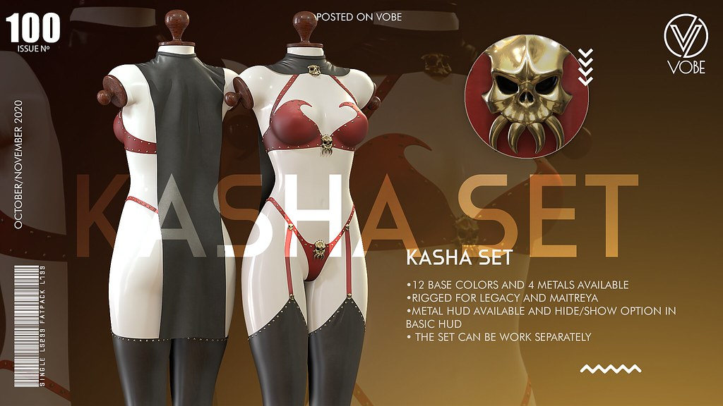 VOBE – KASHA SET @FAMESHED X