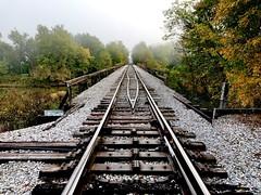 Caney River Railroad Bridge