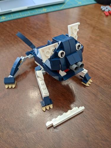 BrickCon Master Build: Puppy 1