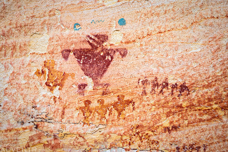 Tri-Color Pictographs